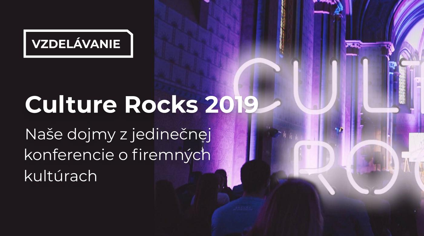 Culture Rocks 2019 - ako bolo?