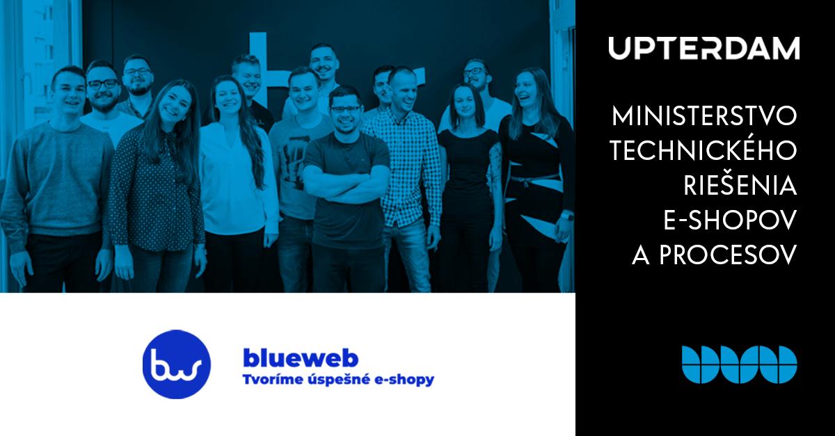 Blueweb: Ministerstvo technického riešenia e-shopov a procesov